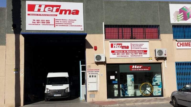 Fachada Herma Málaga