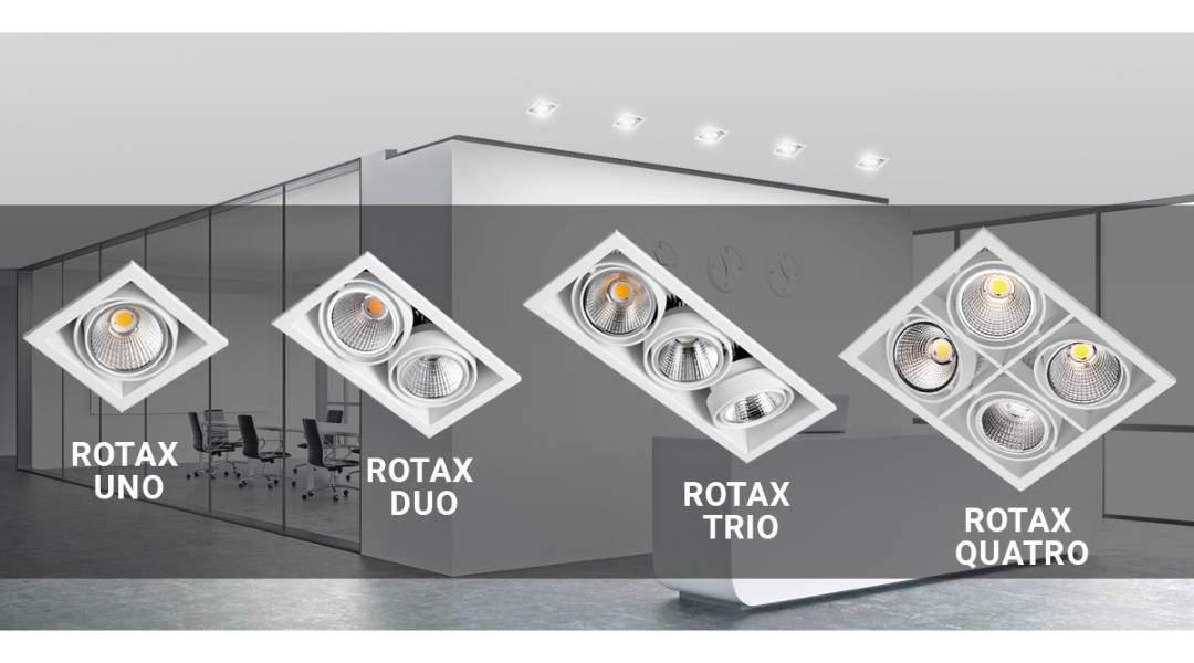 Multidireccionales LED. Rotax