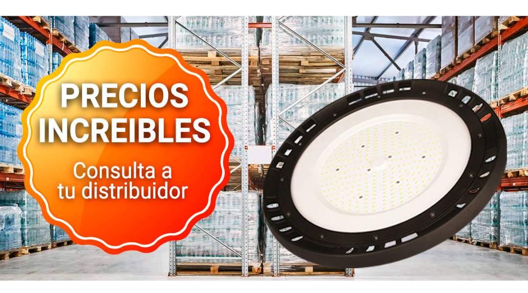 Luminaria industrial de grandes prestaciones
