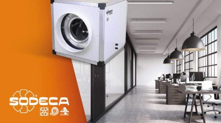 Unidades de ventilación en línea