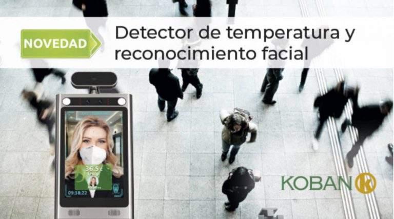 Detector de temperatura y reconocimiento facial