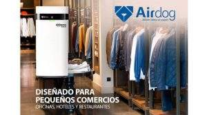 Purificador de aire para eliminar virus y bacterias