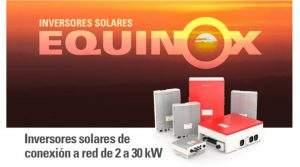 Inversores solares de conexión a red de 2 a 30 kW