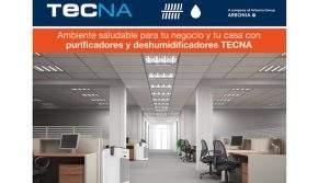 Ambiente saludable con purificadores y deshumidificadores TECNA