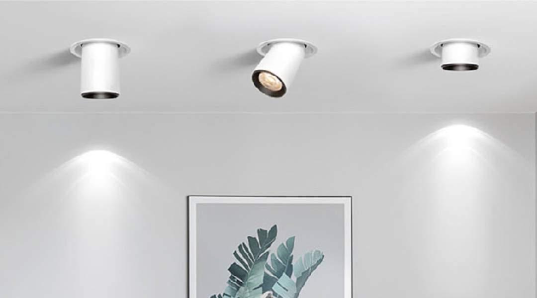 Empotrable LED que se convierte en proyector 360º