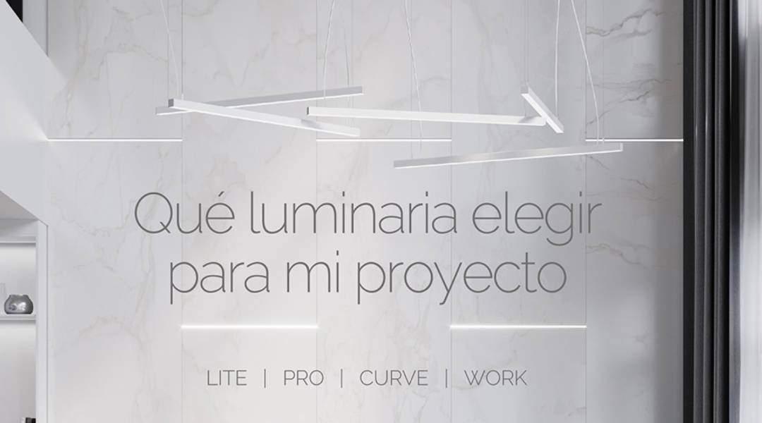 Luminarias ¿Qué modelo elijo para mi proyecto?