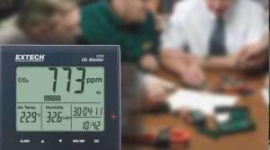 Gama de Medidores de CO2