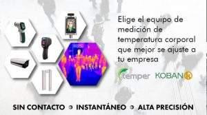 Soluciones Temper para la medición de la temperatura corporal sin contacto