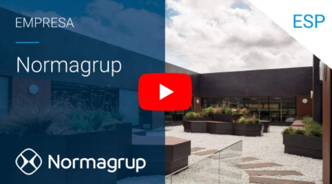 Nuevo vídeo corporativo Normagroup