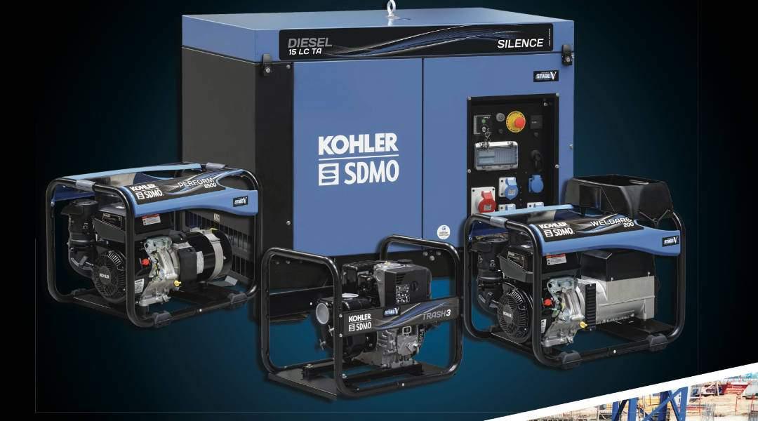 KOHLER SDMO: Nuevo catálogo portable Power 2021
