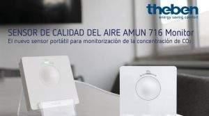 Nuevo sensor de calidad del aire portátil AMUN 716 Monitor
