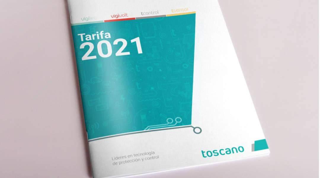 Tarifas 2021 Toscano
