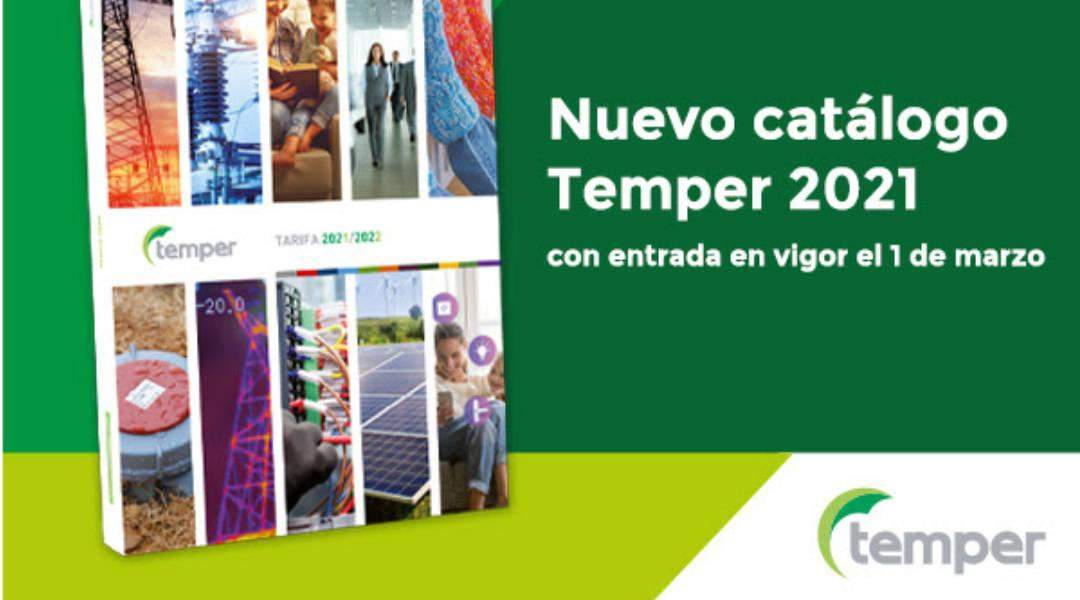 Catálogo Temper 2021