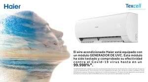Haier Aire certifica su efectividad contra el COVID-19